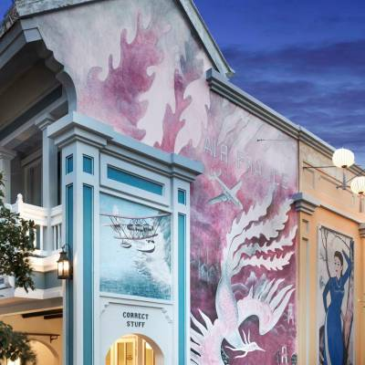 Rue de Lamarck murals