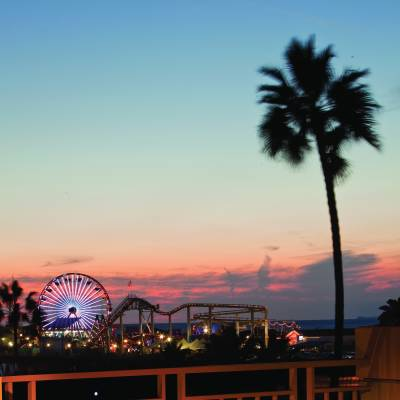 Santa Monica Pier View