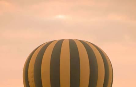 Hot air ballooning in Kenya