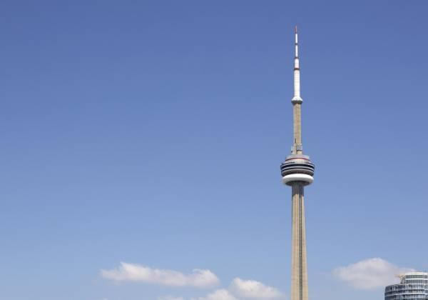 Toronto Skyline, CN Tower, Lake Ontario