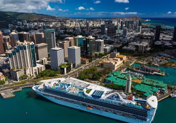 Downtown Honolulu Cr Hawaii Tourism