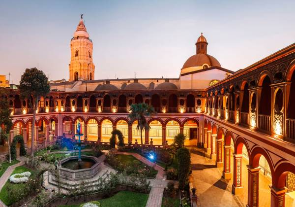 Santo Domingo Monastry in Lima, Peru