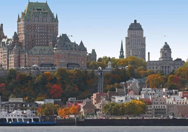 Québec City©Tourisme Du Québec & Benoit Cecile
