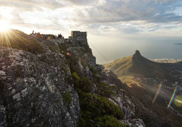 Lions Head and Cape Town