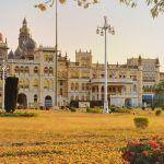 Zauberhafte Bauten in Mysore