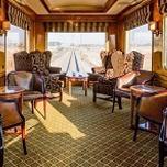 Loungewagen im Blue Train (Kapstadt – Pretoria) in Südafrika