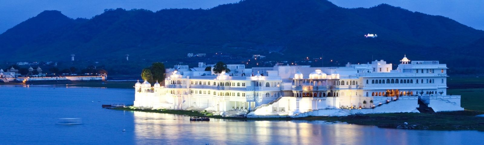 Taj Lake Palace in Udaipur, India. One of the Top Ten Palace & Heritage Hotels in India