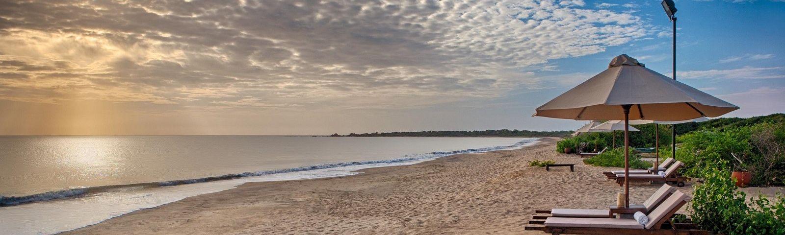 Sri Lanka Dschungel Resort am Strand