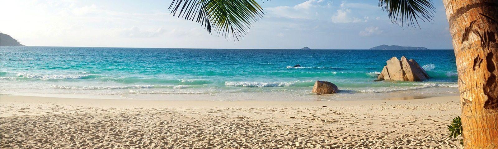 Turquoise water Goa Beach India