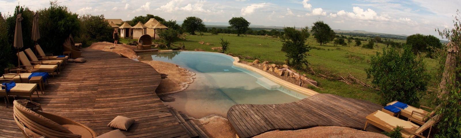 Guest Pool in Sayari