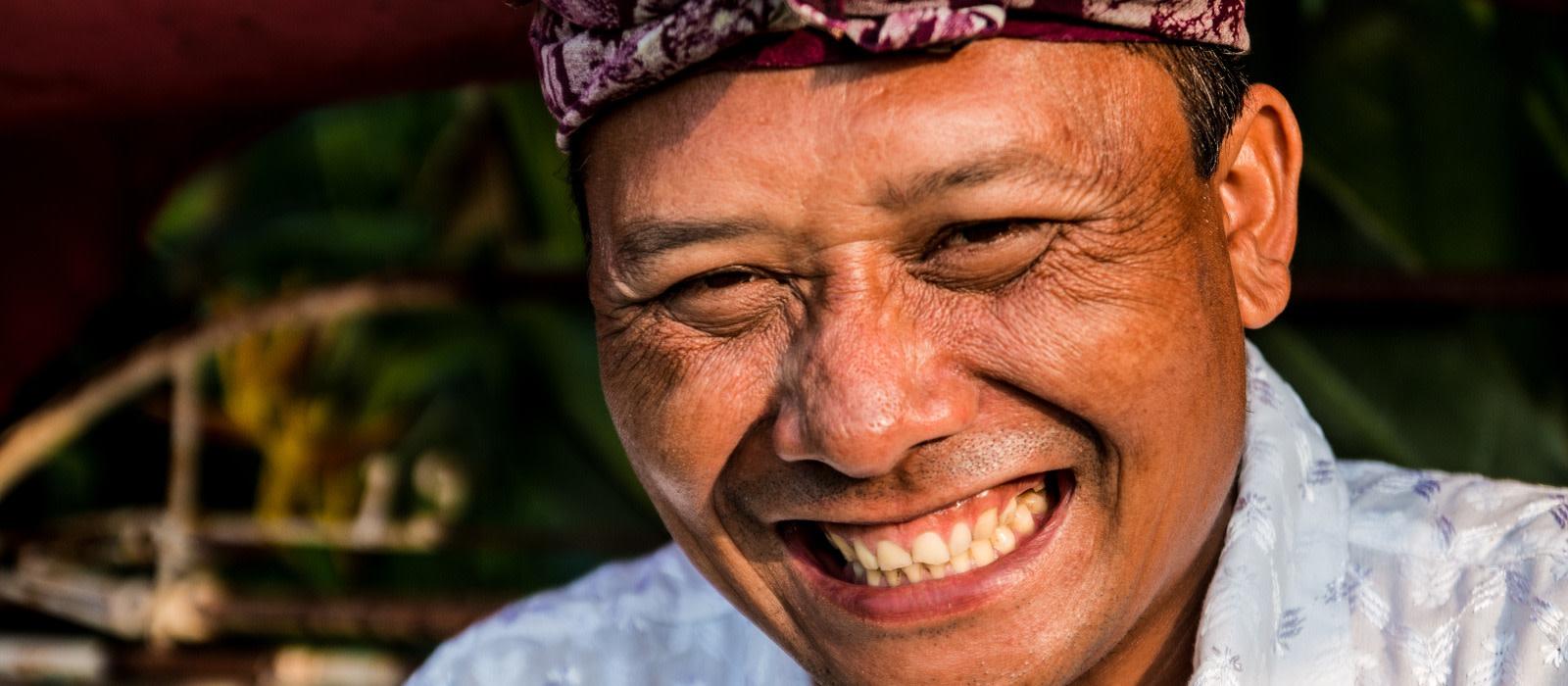 Sicherheit in Indonesien: Die freundlichen Bewohner der Insel helfen gerne weiter