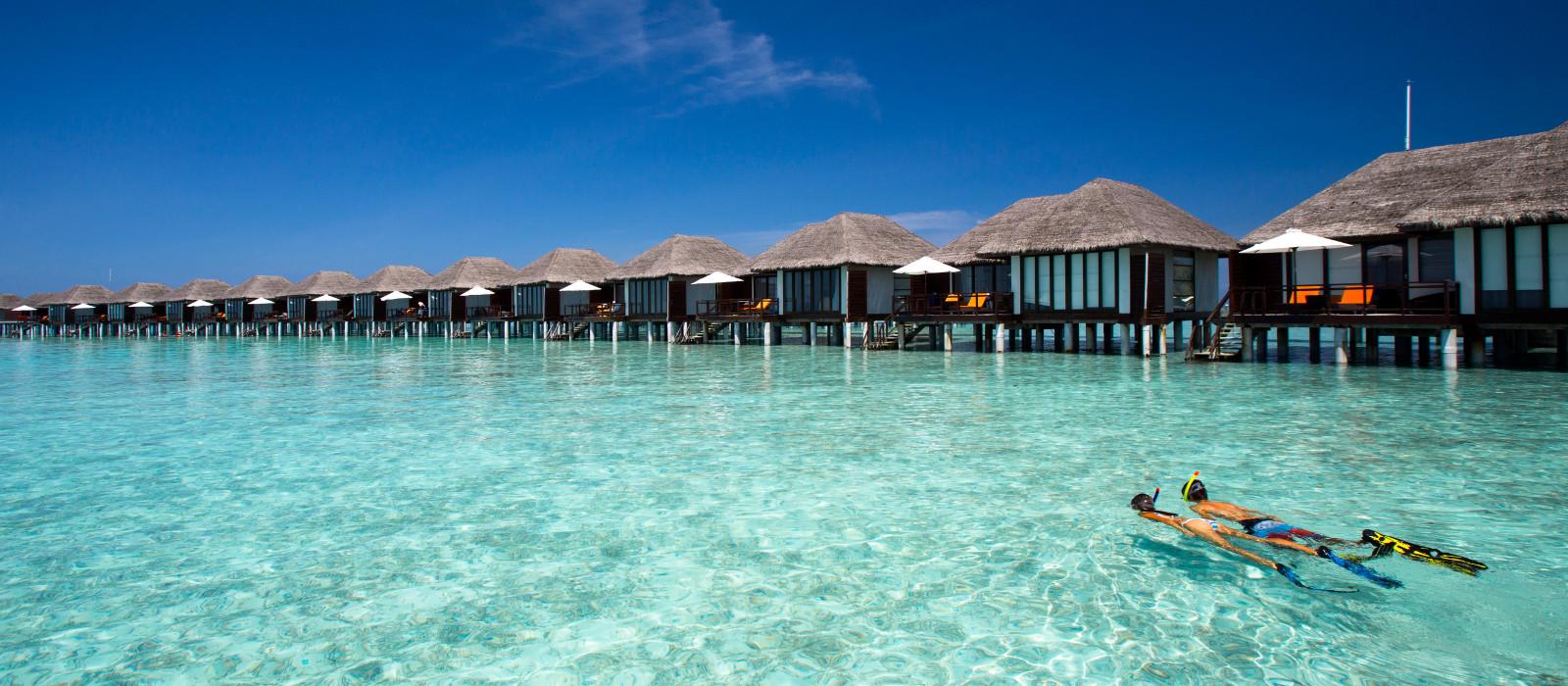 Ocean view at Velassaru Maldives in Male, Maldives