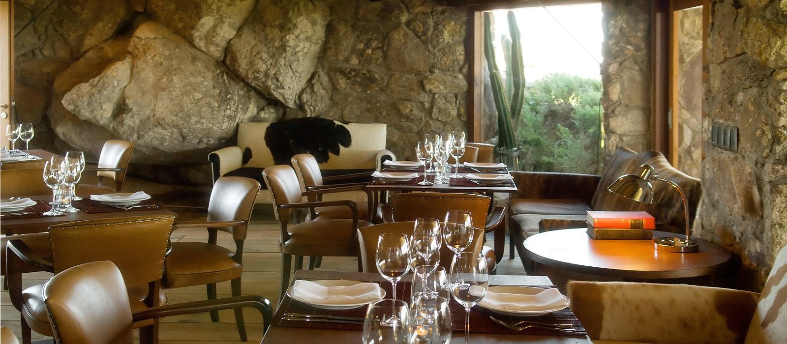 cuisine in Uruguay - Restaurant at Fasano Las Piedras Hotel in Punta del Este, Uruguay