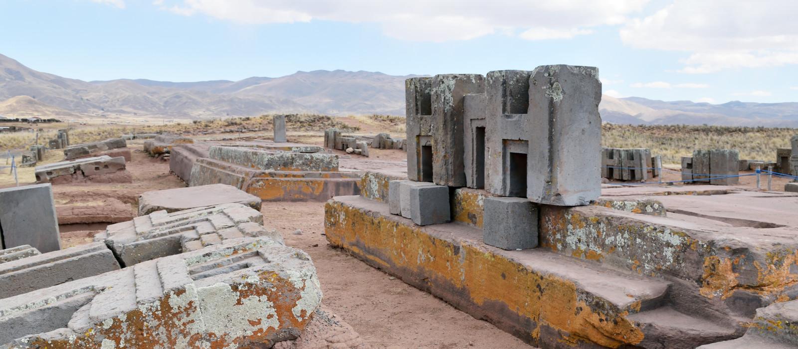 Ruinen von Ruinen von Puma Punku, Bolivien