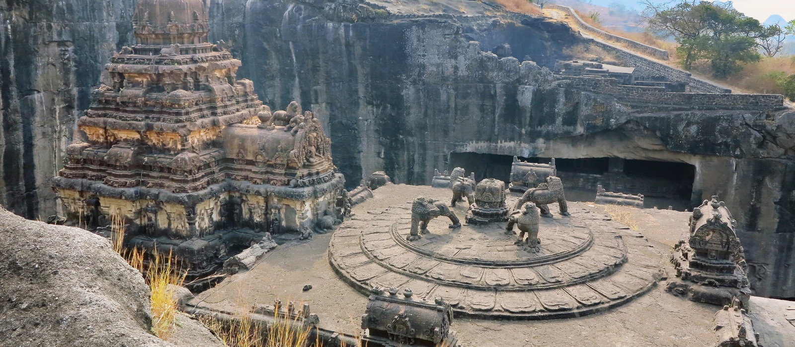 Kailas Temple, Ellora Caves, India