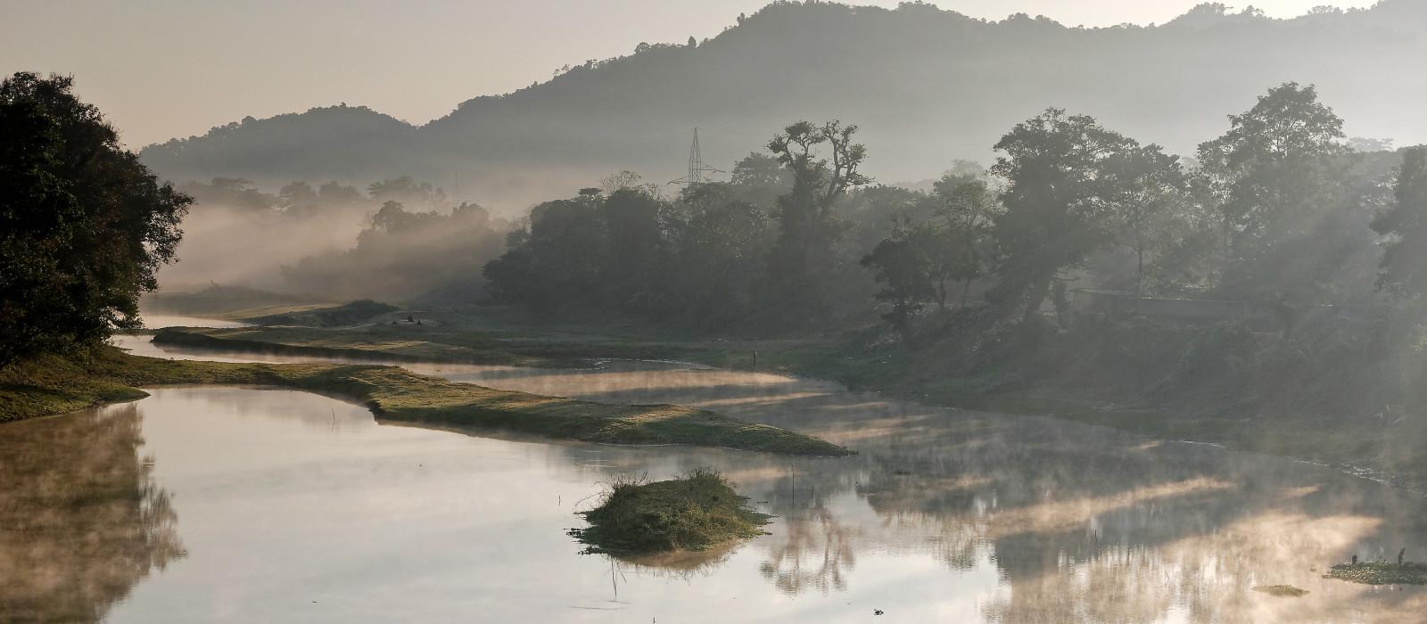 Kaziranga-Nationalpark, Assam, Indien