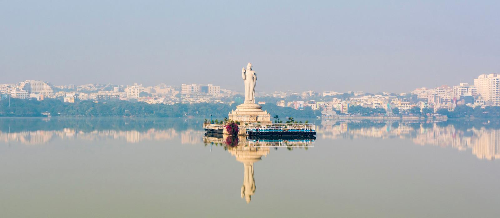 Hussain Sagar Lake, Hyderabad, Telangana, India