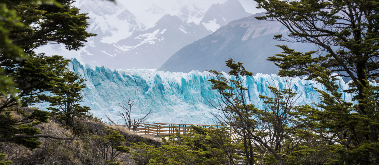 Perito Moreno Gletscher im Los Glaciares Nationalpark in Patagonien, Argentinie