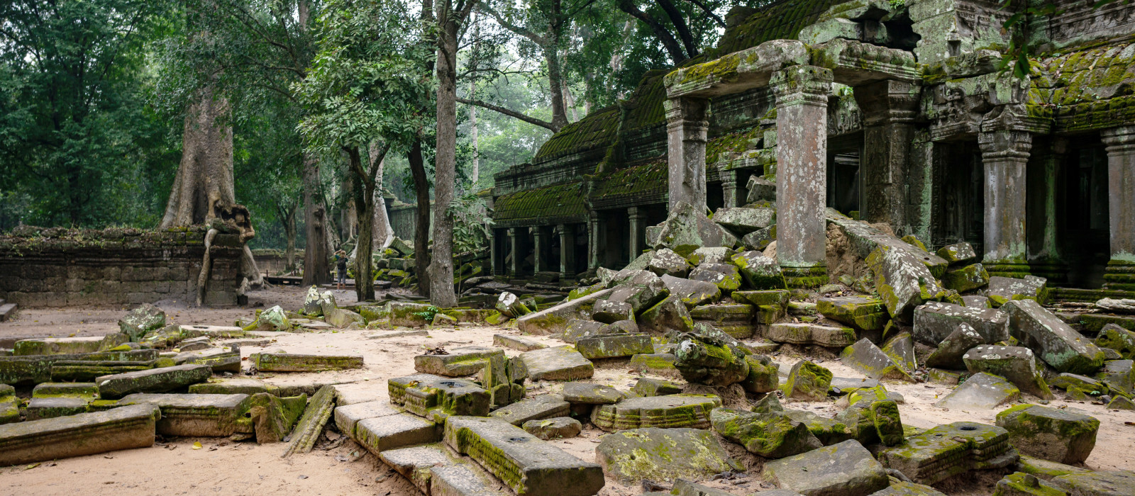 Abandoned temples in Cambodia, Asia