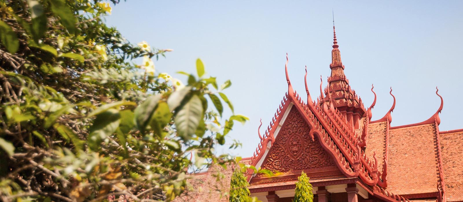 Nationalmuseum von Kambodscha (Sala Rachana) Phnom Penh, Kambodscha, Asien
