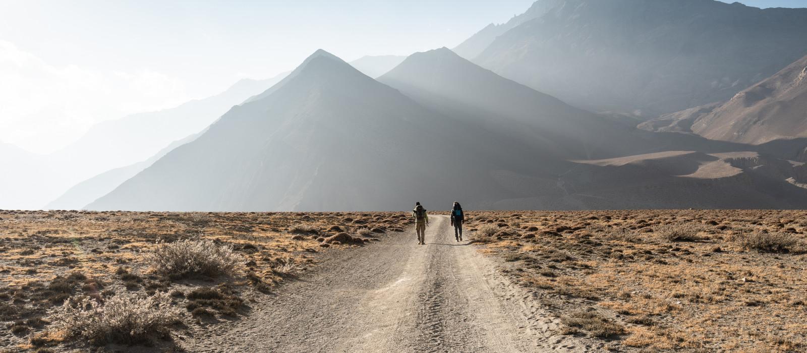 Nepal-Gebirge Himalaya Trekking Annapurna Sanctuary, Asien
