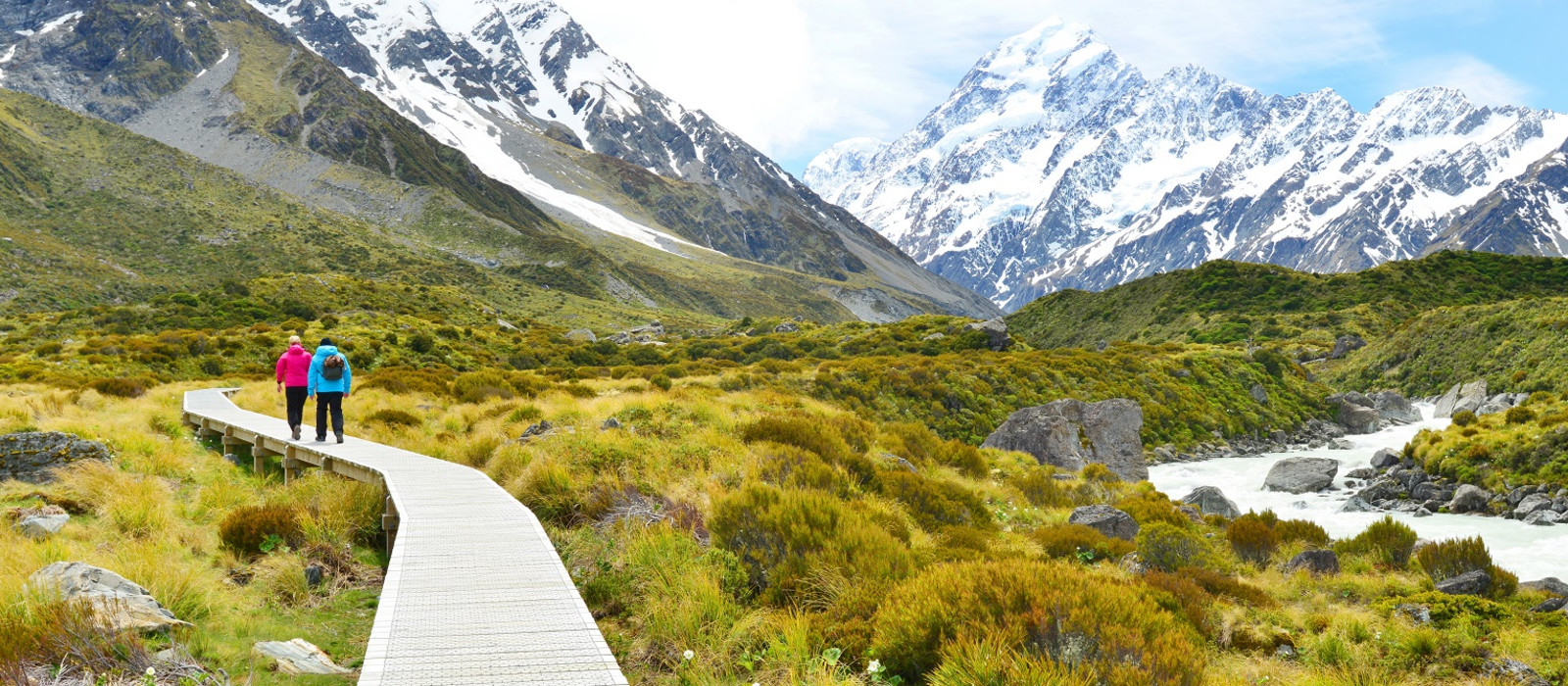 Best time to visit New Zealand - hiking in Mount Cook