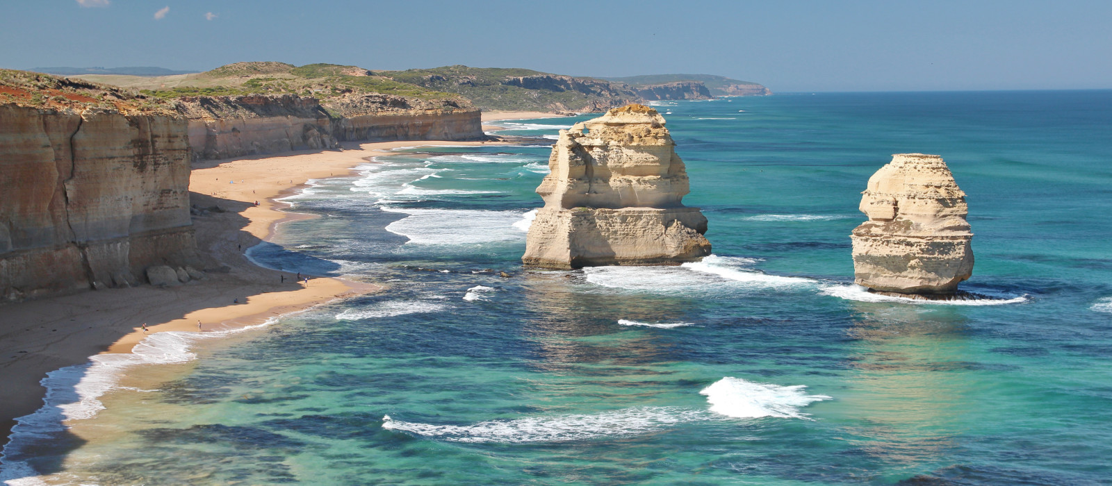 Twelve apostles marine national park at sunset, Great Ocean Road at Port Campbell, Victoria, Australia - oceania tours