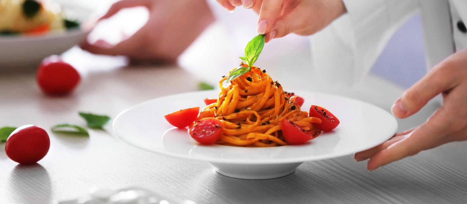 cuisine in Italy - try some pasta!