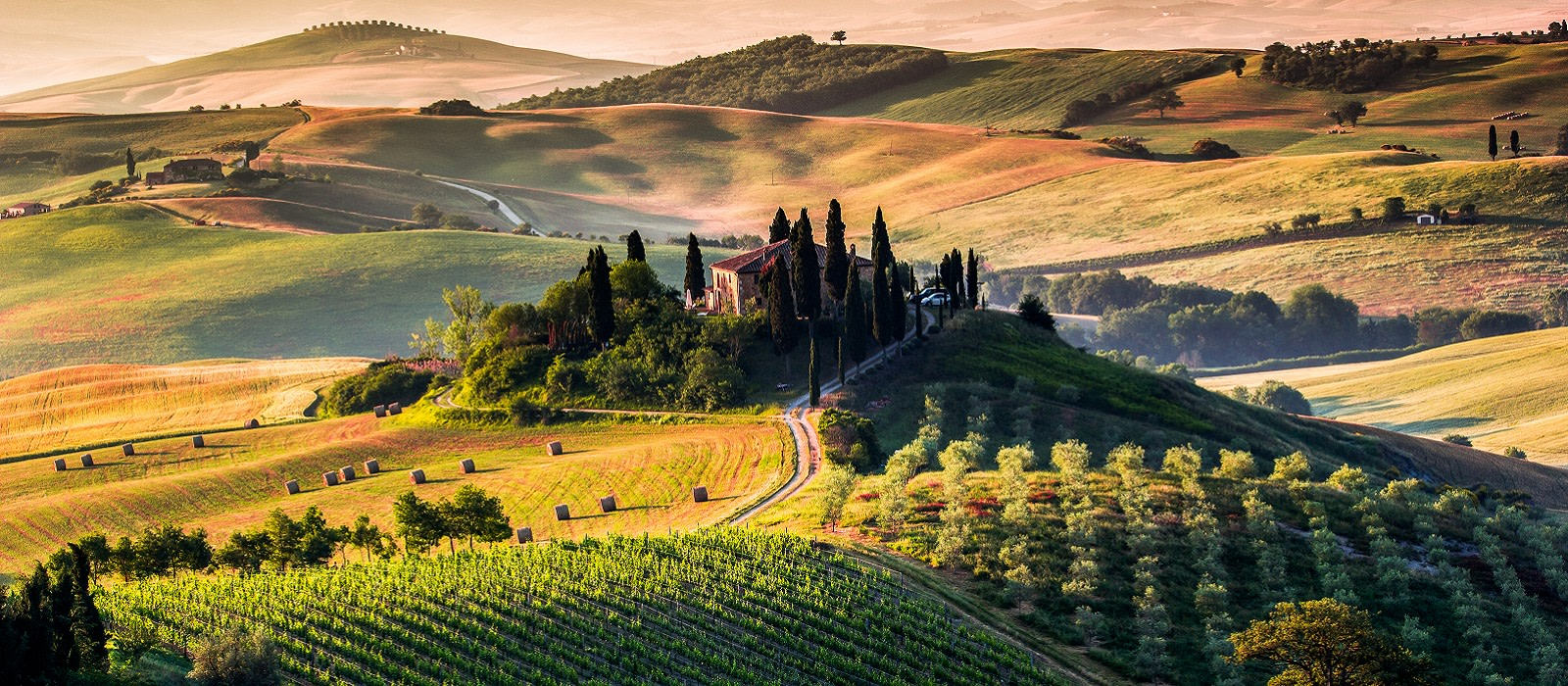 Enchanting Travels Italy Tours Tuscany, panoramic landscape - Italy