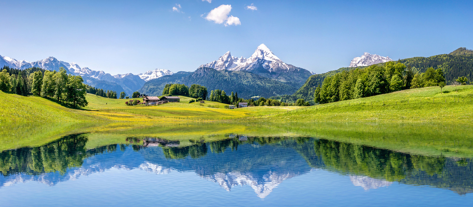 Best time to visit European Capitals - Idyllic summer landscape with clear mountain lake in the Alps - European Cities tours