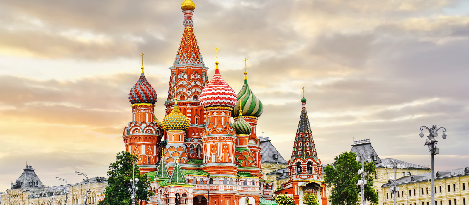St Basil's in Moscow