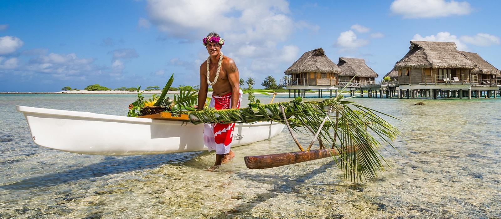 French Polynesia Vacation - Local Man
