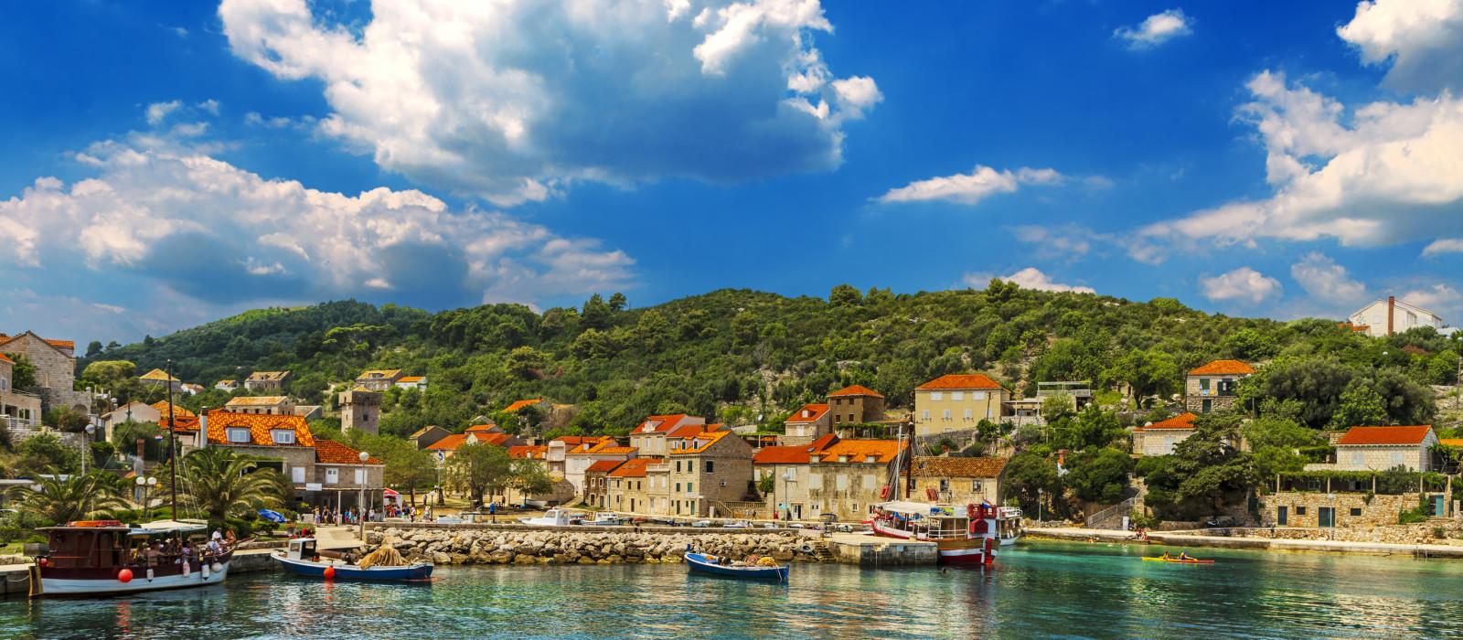 Croatia. South Dalmatia - Elaphiti Island. - Slovenia & Croatia Tours