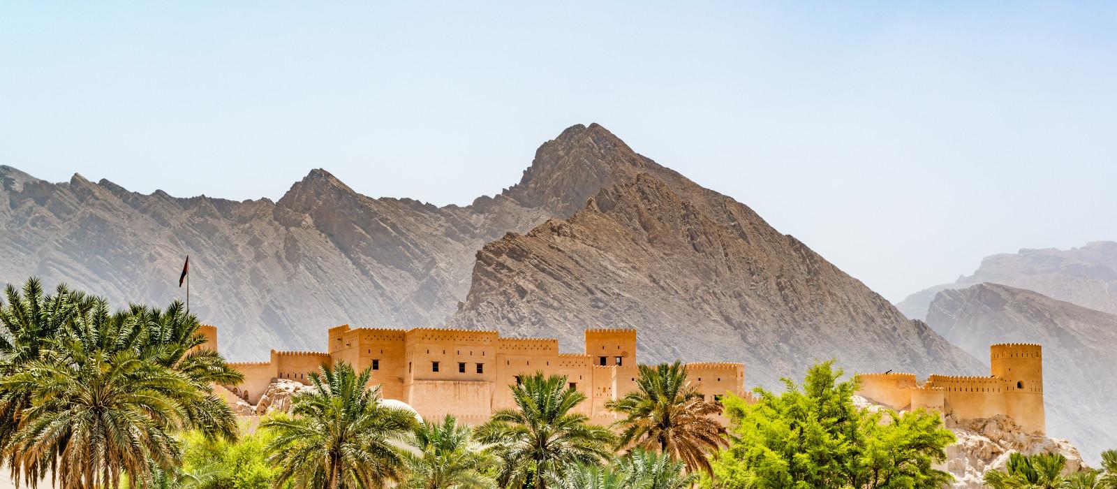 Oman Reisen: Nakhal-Fort in der Region Al Batinah, Oman.