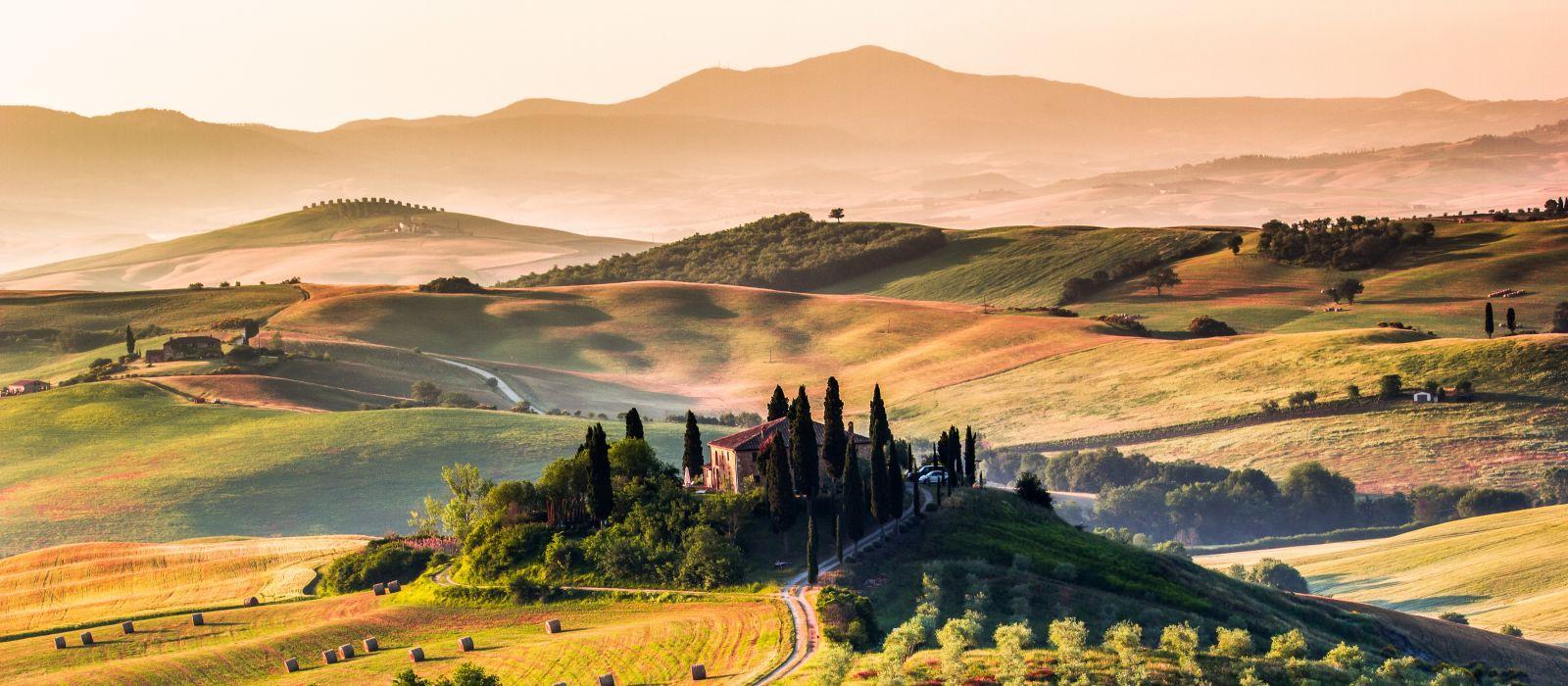 Enchanting Travels Europe Tours Tuscany, panoramic landscape - Italy