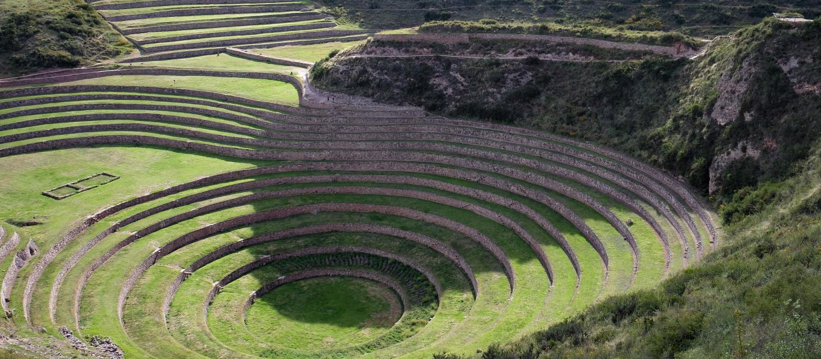 Inka, Moray, Sacred Valley, Cusco, Peru, Südamerika
