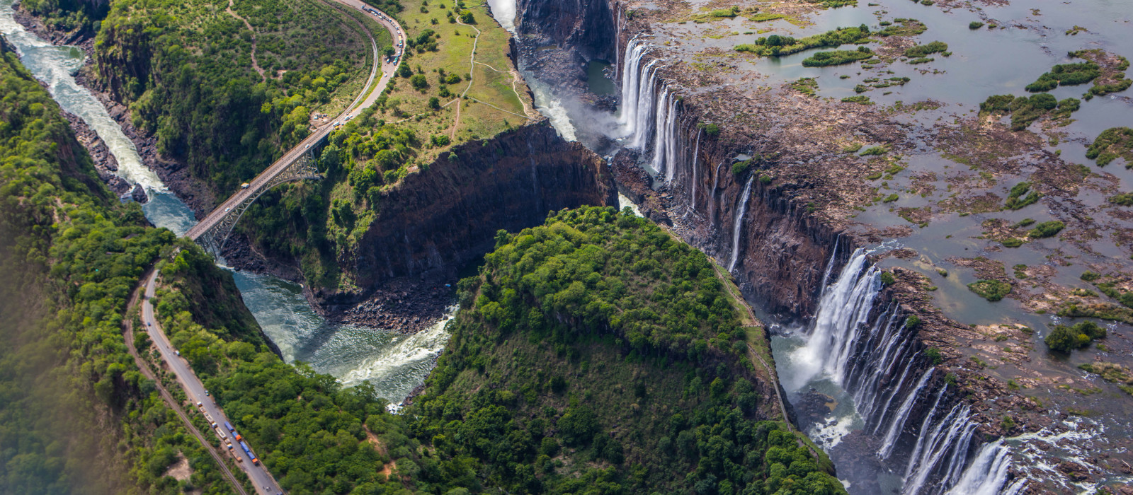 Victoria falls in Zimbabwe, Africa - Best time to visit Zimbabwe