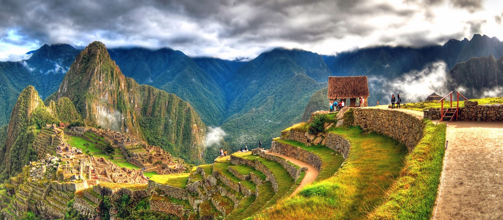 Machu Picchu, the lost city of the Incas, Peru, South America