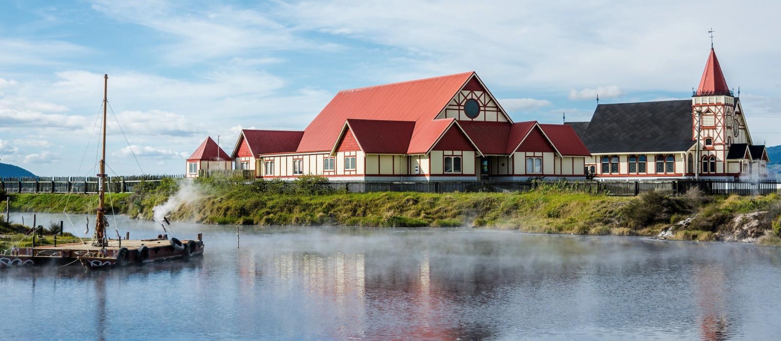a maori village in new zealand