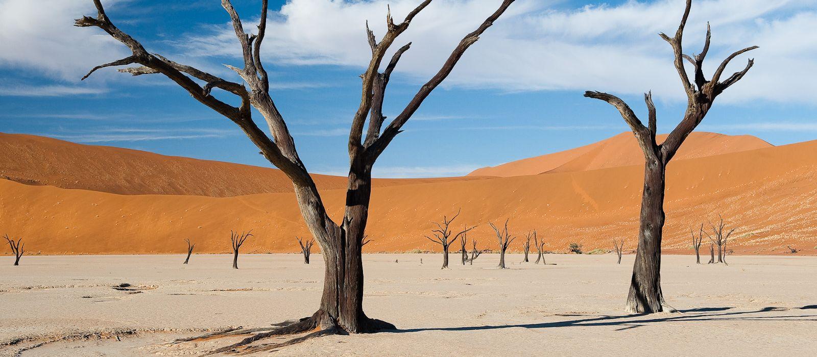 Dessert landscape in Sossusvlei, Namibia