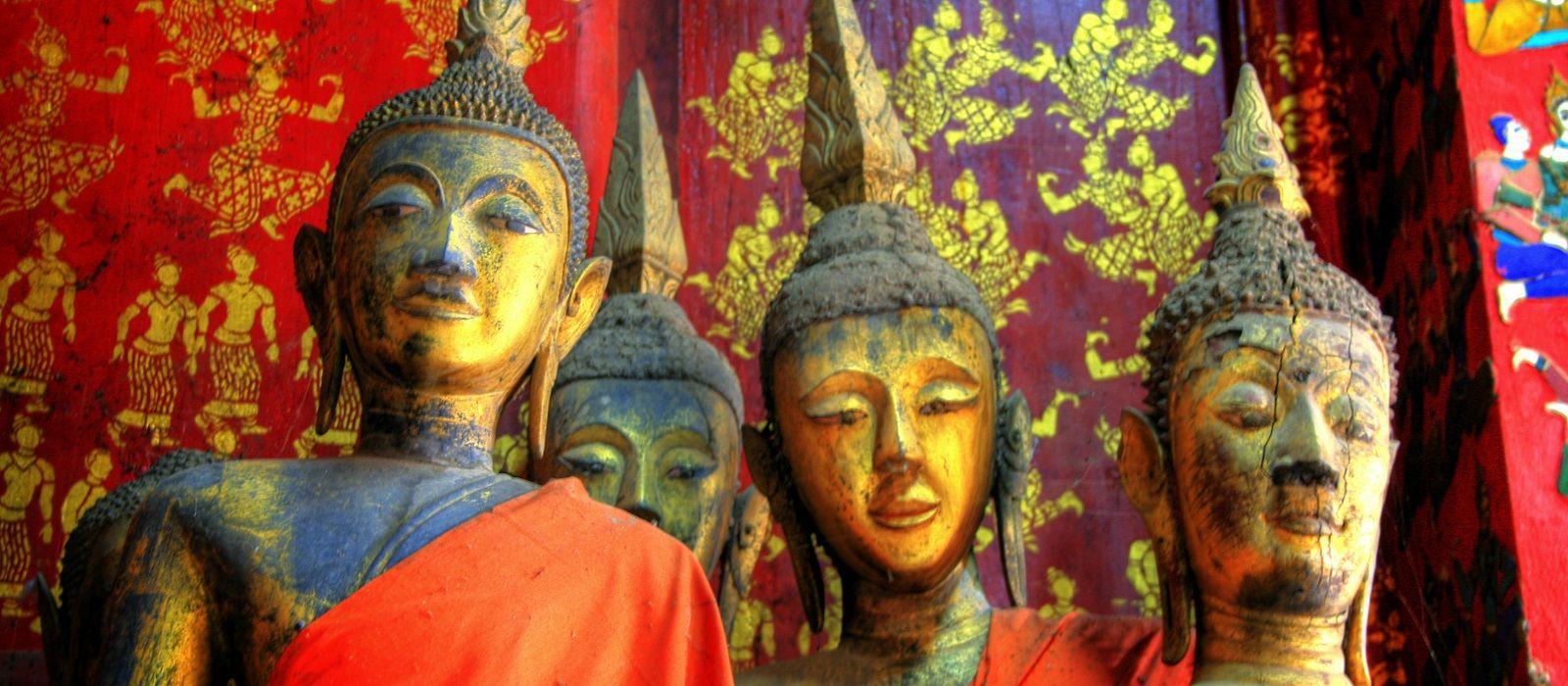Enchanting Travels Laos Tours Golden Temple at Luang Prabang - history of Laos