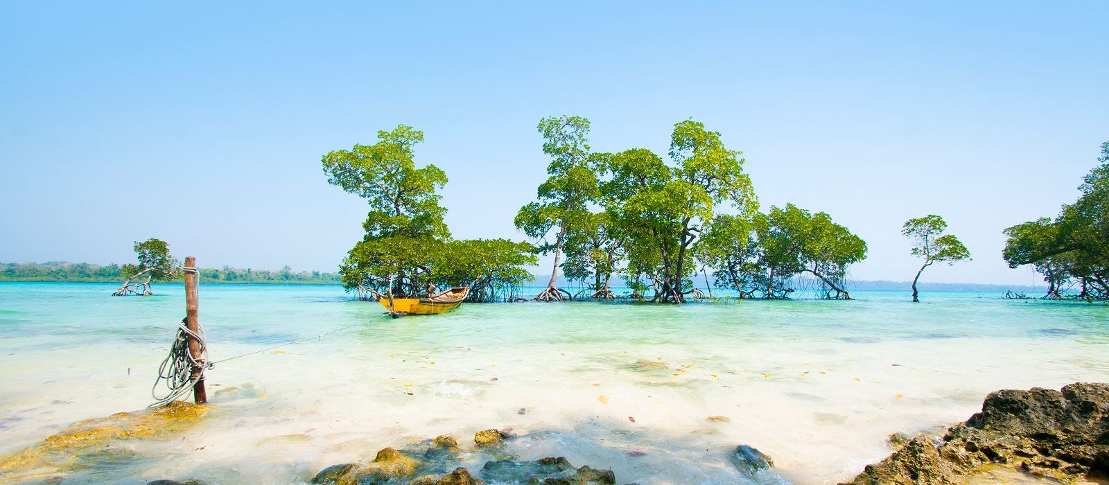 Stunning beach at Havelock Island in the Andamans