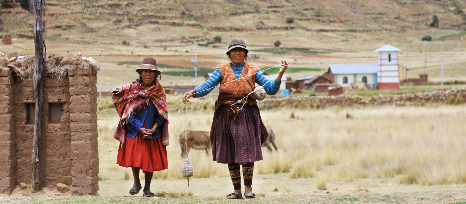 Aymara women, Chile, South America