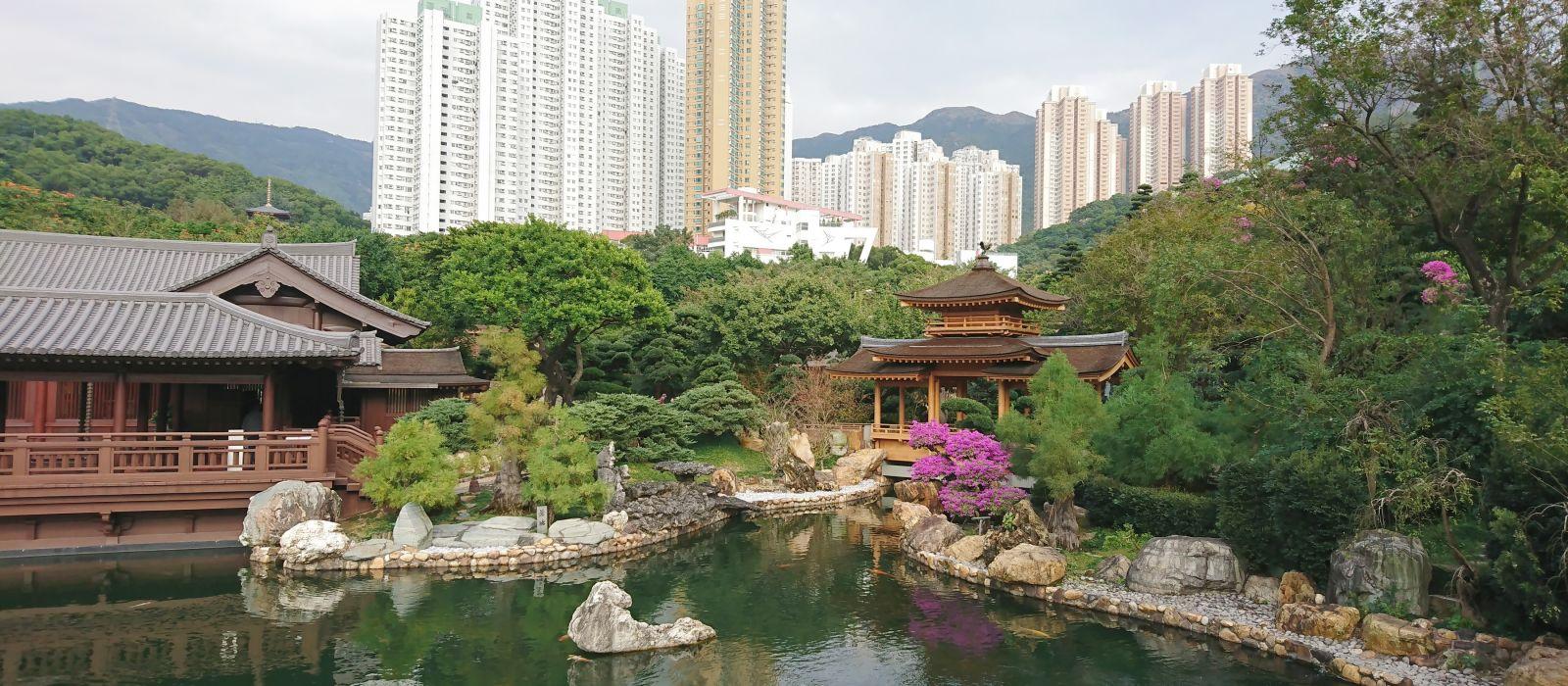 Nan Lian Garten in Kowloon Hongkong, Asien