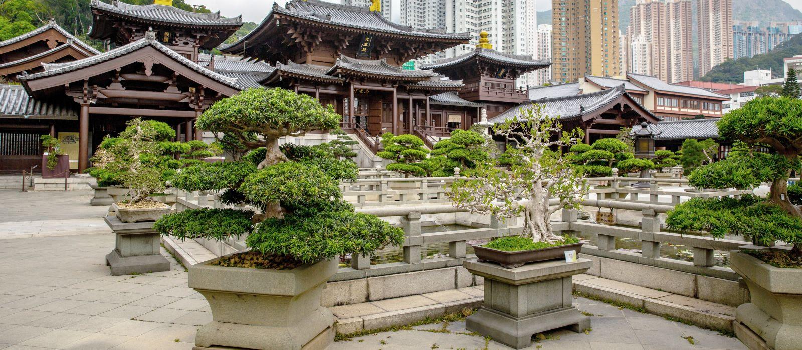 Nan Lian Garten, Kowloon, Hong Kong, Asien
