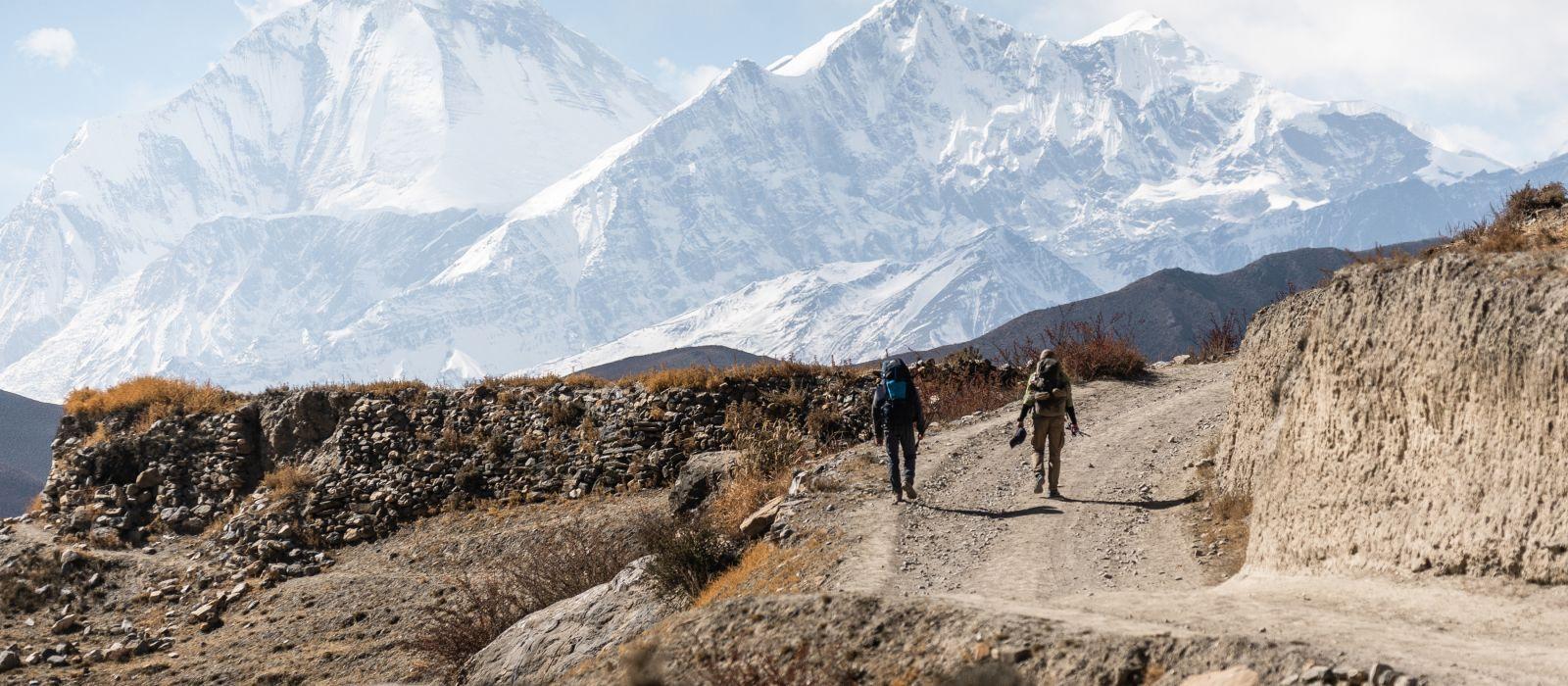 Himalaya Berge in Nepal