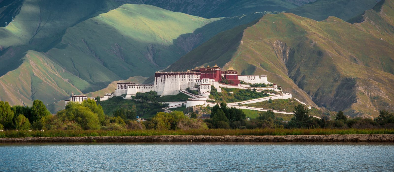 Potala palace in Tibet of China