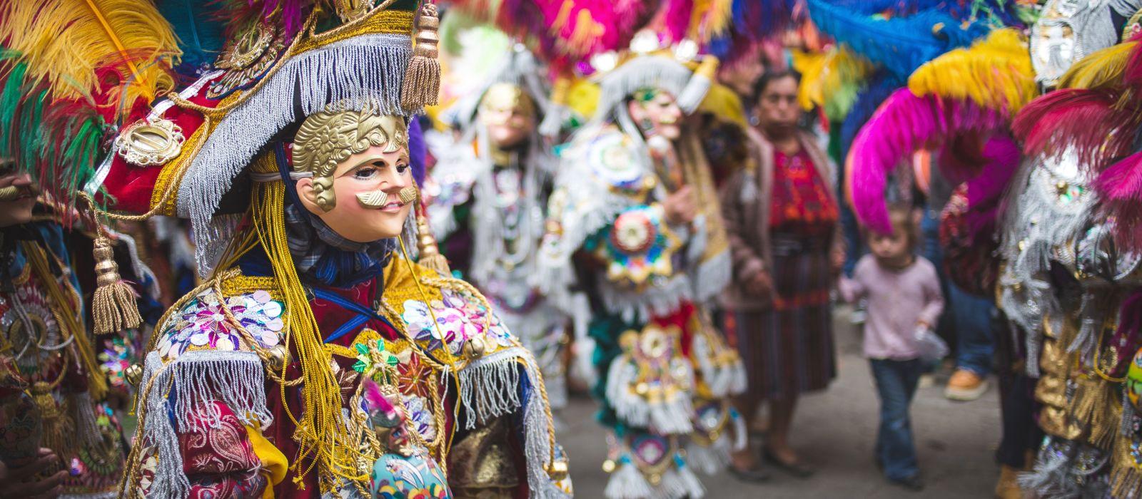 Traditional festival and colors in Chichicastenango, Guatemala, Central America