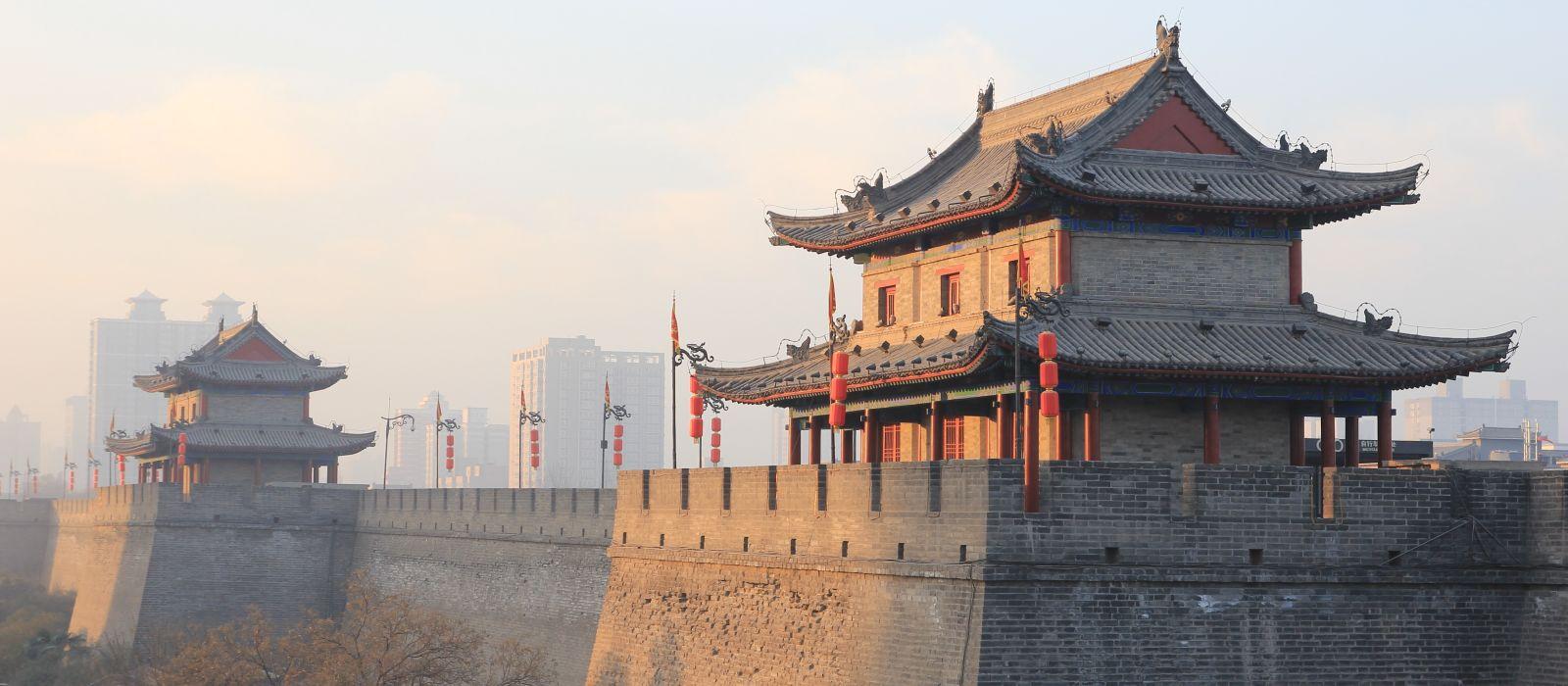 Enchanting Travels China Tours Xian City Wall - History of China