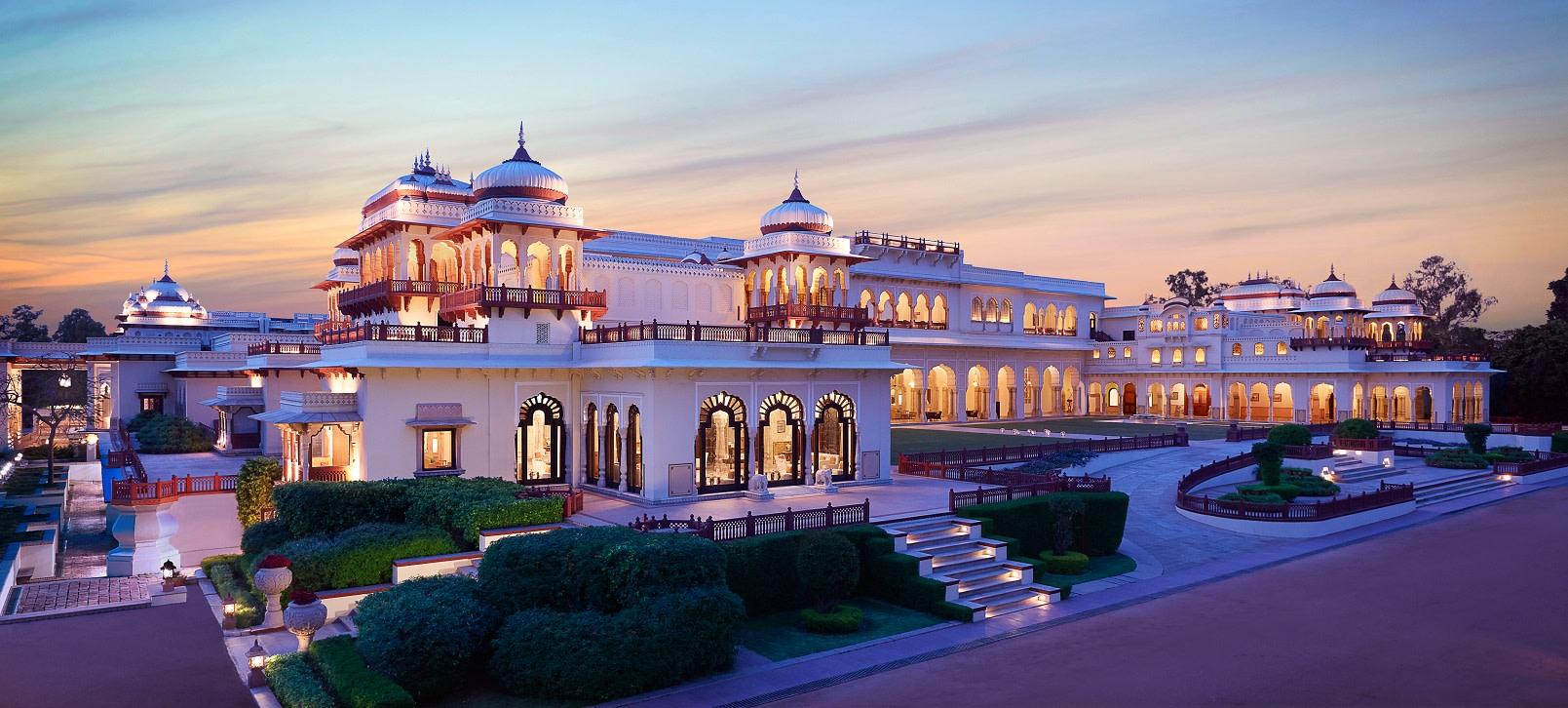 Taj Rambagh Palace, Jaipur Hotels, India